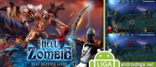Hell Zombie – качественная Tower Defence