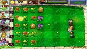 Zombies растения против зомби на андроид