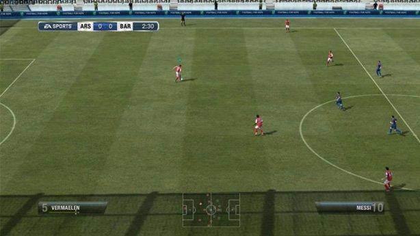 Скриншоты работы FIFA 12 в полной взломанной версии на смартфоне с ОС Андро